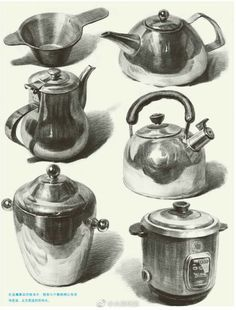 40 Different Pencil Drawings to Improve Yourself – Esminity – Wunderbare Kunst Still Life Sketch, Still Life Drawing, Still Life Art, Pencil Art Drawings, Realistic Drawings, Art Drawings Sketches, Basic Drawing, Drawing Ideas, Texture Drawing
