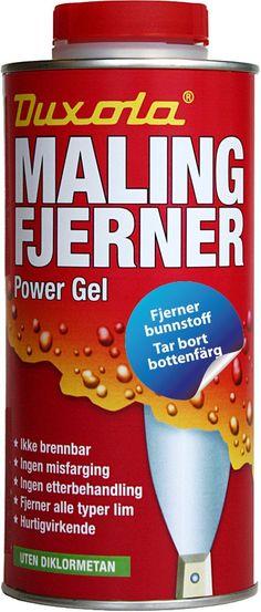Duxola malingfjerner power gel 750ml - MegaFlis.no