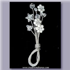 Crystal Boutonniere - Tradewind Tiaras