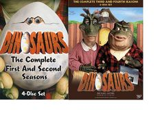 Dinosaurs Complete Series TV Show Season 1 2 3 4  DVD Collection BRAND NEW!