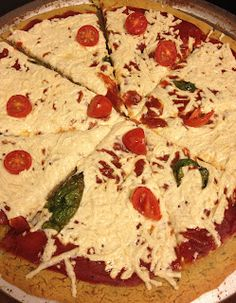 Socca pizza crust, gluten-free, vegan, packed with protein and super easy to make!
