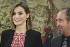 Doña Letizia, con la Junta Directiva de la Plataforma de Organizaciones de Infancia de España Palacio de La Zarzuela, 08.01.2016