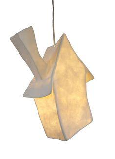 Papieren lamp huisje... - Inspiratie voor je interieur