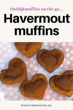 Deze gezonde havermout muffins zijn  heerlijk  als ontbijt of als tussendoortje. En je hebt maar weinig ingrediënten nodig..banaan, havermout, ei, bakpoeder.. Healthy Recipes, Desserts, Food, Tailgate Desserts, Deserts, Essen, Healthy Eating Recipes, Postres, Meals