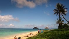 Lanikai Beach Hawaii Desktop Hd Wallpape 1920×1080