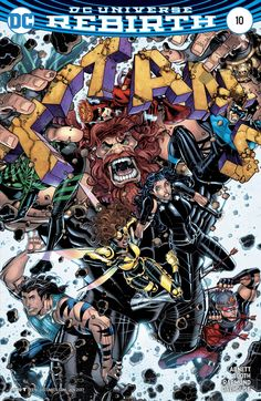 Titans # 10 (2017) Variant Cover (Nick Bradshaw)