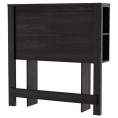 South Shore Fynn Headboard with Storage, Oak