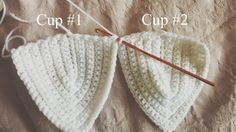 from a thread: How to Crochet a simple bralette / crop top pattern
