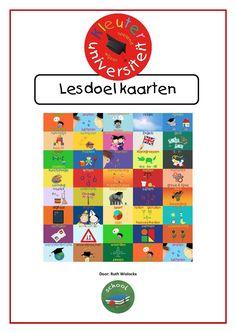 Kleuteruniversiteit lesdoel kaarten | Kleuteruniversiteit Leader In Me, Creative Teaching, Primary School, Coaching, Kindergarten, Classroom, Letters, Tips, Fun