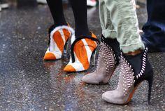 Milan Fashion Week F/W 2014 street style