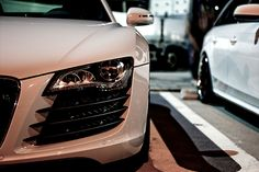 Audi beauty shot.