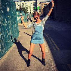 Millie strikes a pose for sunny Sundays