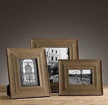 Weathered Oak Gallery Tabletop Frame Wide www.MadamPaloozaEmporium.com www.facebook.com/MadamPalooza