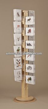 Postcard Display Stand How To Make A Greeting Card Display Stand Card displays Display 12