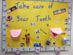 Dental care bulletin board