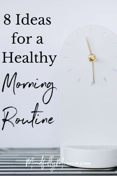 7 Ideas for a Healthy Morning Routine - Monica Frederick Having a good morning routine is the way to maintain a healthy lifestyle! Check out these 8 ideas for a healthy morning routine with a morning checklist! Healthy Lifestyle Tips, Healthy Living Tips, Healthy Habits, Get Healthy, Healthy Tips, Healthy Eating, Healthy Recipes, Healthy Morning Routine, Morning Habits