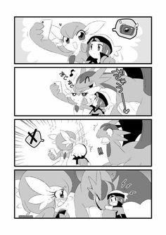 Sexy Pokemon, Pokemon Funny, Pokemon Ships, Pokemon Fan Art, Pokemon Images, Pokemon Pictures, Fan Anime, Anime Art, Gardevoir Comic