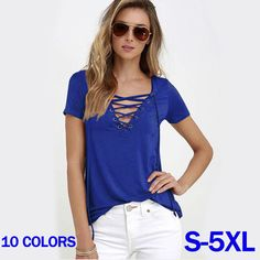2017 Summer New Europe and America Style Women s Slim Bandage Short Sleeve  Top Shirts Pullovers Plus 8f214c4955dc7