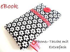 eBook iPhone®-Tasche mit Extrafach von FrÄuLeIn EmmAs do it yourself auf DaWanda.com