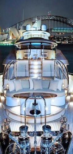 Amazing yacht... luxury lifestyle mindfultravelbysara.com #luxury #lifestyle