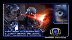 #STARFLEET INTELLIGENCE | Drone Ocular Implant of the #Borg Collective | #StarTrek