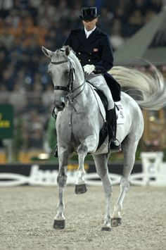 Andreas Helgstrand & Blu Hors Matine. She was one of the loveliest moving horses I ever saw and died way too soon.