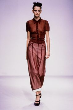 Prada Spring 1997 Ready-to-Wear Fashion Show - Stella Tennant