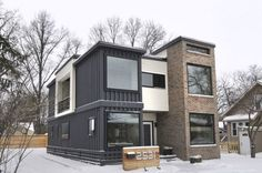 Private Residence Container Home | Architect Magazine | Designhaus Architecture, Royal Oak, MI, USA, Single Family, Interiors, New Construction, Renovation/Remodel, Architectural Detail, Modern