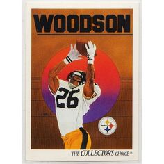 1991 PITTSBURGH STEELERS' ROD WOODSON UPPER DECK NFL TRADING CARD #98. Buy it on eBid Canada | 151874203