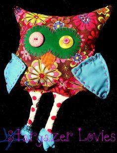 Bohemian owl by StargazerLovies on Etsy, $20.00 #HMCSpring @HandmadeC
