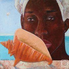 Дручинина Татьяна. Большая карибская ракушка