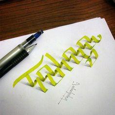 3D calligraphy 6