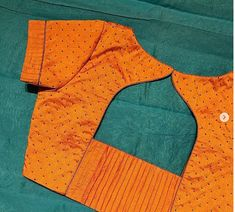 Simple Saree Blouse Designs, Patch Work Blouse Designs, Stylish Blouse Design, Blouse Back Neck Designs, Fancy Blouse Designs, Blouse Simple, Blouse Designs Catalogue, Designer Blouse Patterns, Sheego