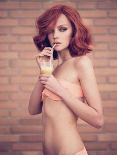 emosloppy:  sexyqueen:'Hotel California'Heather Marks | Paul Schmidt | Marie Claire Italia