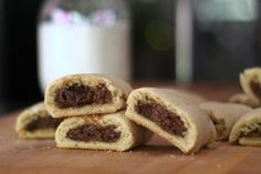 Fig Newtons were among the first commercially produced cookies in the U.S., but can be made at home using fresh or stored ingredients