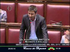 """Di Battista (M5s): """"L'expo è un tangentificio. Chiuderlo sarebbe un segn..."""