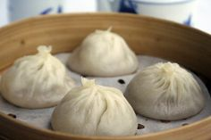 Crab Meat Xiao Long Bao or 蟹肉小笼包. -Theirs are authentic and quite tasty–the skin thin and the dumplings are filled with hot and juicy broth.