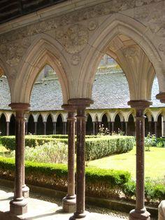 Monastere du Mont St Michel 2 by Xiao-Ninie.deviantart.com