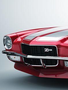 Camaro Z28 - 1970 by Magnum 1976, via Behance