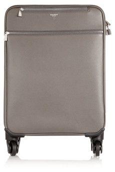 Gypsy Travel Luggage  Serafini Amelia  Serapian Evolution textured-leather travel trolley   NET-A-PORTER