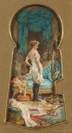 Hans Zatzka Paintings