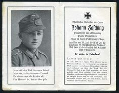 orig WK2 STERBEBILD - DEATH CARD - Gebirgsjäger KALATSCH 1942 - östl. STALINGRAD