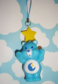 Care Bears Blue Bedtime Bear Yellow Star Phone by wearitcuter, $6.95