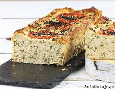 pasztet-drobiowy-rosolowy-2 Bread Recipes, Chicken Recipes, Cooking Recipes, Polish Recipes, Meatloaf, Quick Easy Meals, Banana Bread, Food To Make, Catering