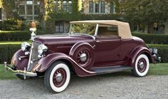 1934 Plymouth PE Delux Six Convertible
