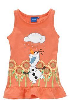 Mega fede Disney Frozen Top Orange Disney Frozen Toppe til Børn & teenager til hverdag og til fest