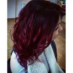 14 prachtige ombre kapsels voor de dames met rood haar.. Laat je inspireren! - Kapsels voor haar