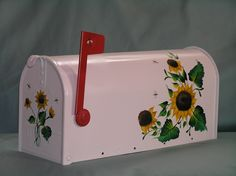 custom painted mailbox