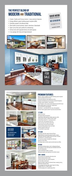 Real Estate Flyers That Get Noticed  Graphic Design  Ideas