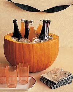 Pumpkin ice bowl